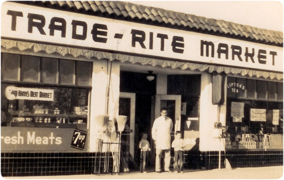 Trade Rite Market dates back to 1945.