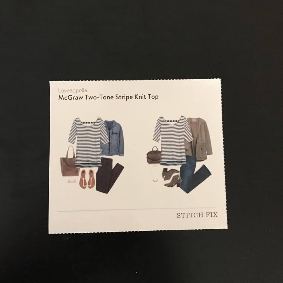 Dreaded Striped Top Cheat Sheet