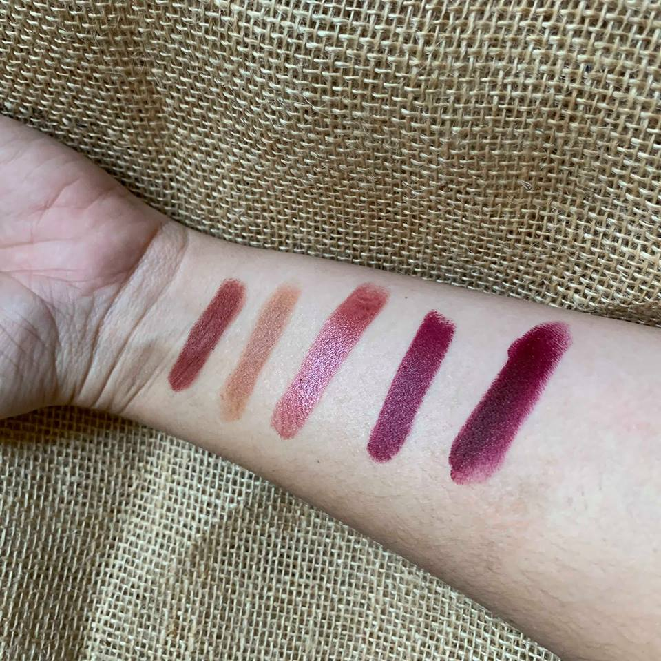 Fall faves swatches