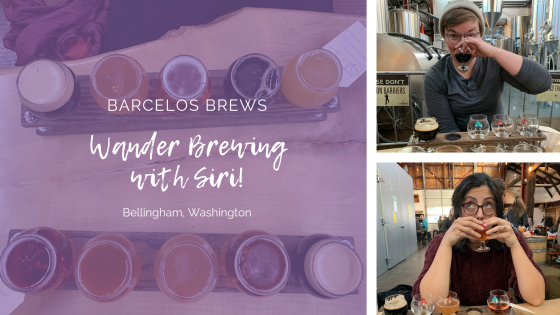 Barcelos Brews Wander Brewing with Siri